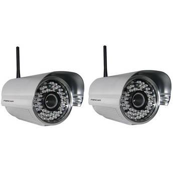 Foscam Outdoor Wireless Camera Kit (Set of 2)