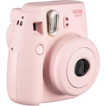 Fujifilm INSTAX Mini 8 Instant Film Camera (Pink)