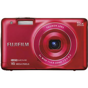 Fujifilm FinePix JX680 Digital Camera (Red)