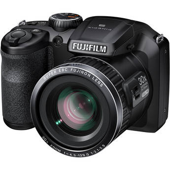 Fujifilm FinePix S6800 Digital Camera (Black)