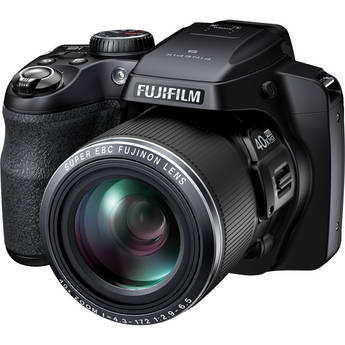 Fujifilm FinePix S8200 Digital Camera (Black)