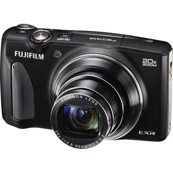 Fujifilm FinePix F900EXR Digital Camera (Black)