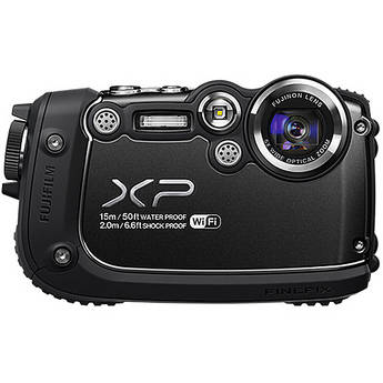 Fujifilm FinePix XP200 Digital Camera (Black)