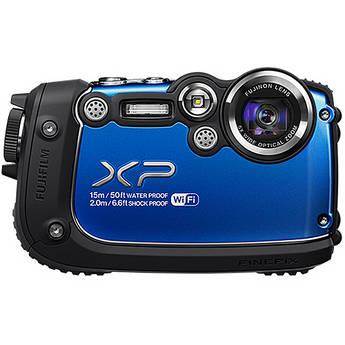 Fujifilm FinePix XP200 Digital Camera (Blue)