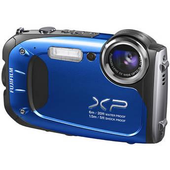 Fujifilm FinePix XP60 Digital Camera (Blue)
