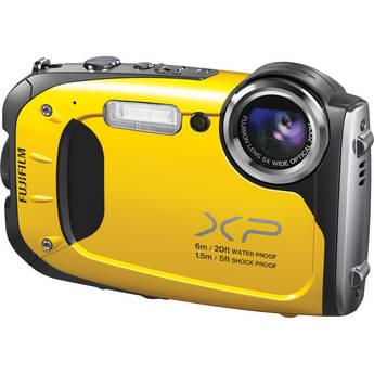 Fujifilm FinePix XP60 Digital Camera (Yellow)