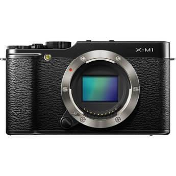 Fujifilm X-M1 Mirrorless Digital Camera Body (Black)
