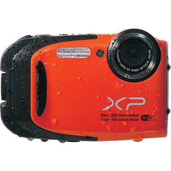Fujifilm FinePix XP70 Digital Camera (Orange)