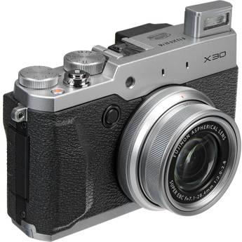 Fujifilm Fujifilm X30 Digital Camera (Silver)