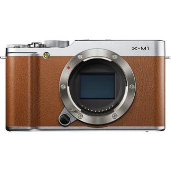 Fujifilm X-M1 Mirrorless Digital Camera Body (Brown)