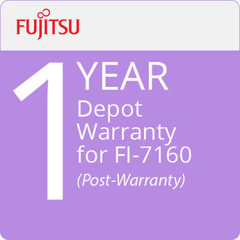 Fujitsu Depot Warranty for fi-7160 (1-Year, Post-Warranty)
