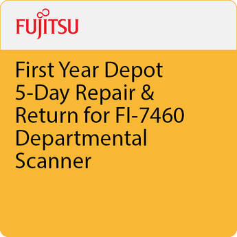 Fujitsu First Year Depot 5-Day Repair & Return for FI-7460 Departmental Scanner