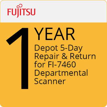 Fujitsu 1-Year Depot 5-Day Repair & Return for FI-7460 Departmental Scanner