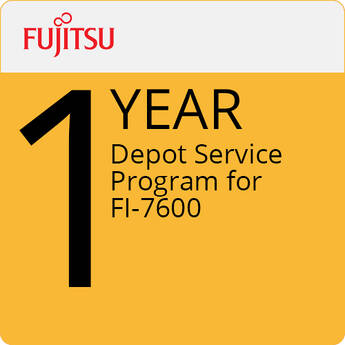 Fujitsu Depot Service Program for fi-7600 (1-Year)