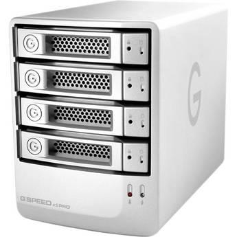G-Technology 4TB G-SPEED eS PRO 4-Bay RAID Array w/ 4x 1TB Enterprise Drives