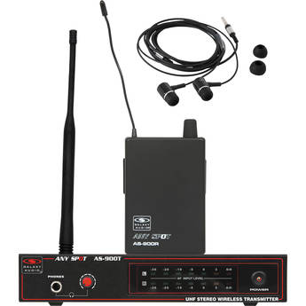 Galaxy Audio AS-900 Any Spot Series Wireless Personal Monitoring System (633.4 MHz)