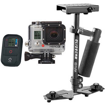 GoPro HERO3: Black Edition Camera & iGlide Handheld Stabilizer Kit