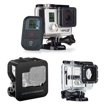 GoPro GoPro Hero3+ Black Edition with Cobalt Cage & Housing