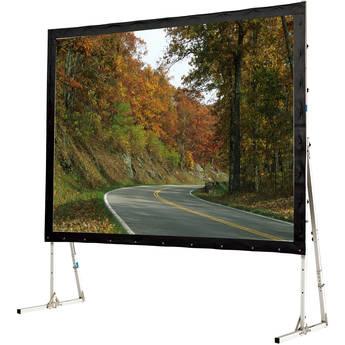 "GrandView LS-ZD164WWW3R Super Mobile 87 x 139"" Folding Projection Screen"