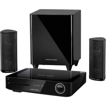 Harman Kardon BDS 380 High-Performance 2.1-Channel Networked 3D Blu-ray Disc System