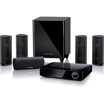 Harman Kardon BDS 6802 High-Performance 5.1-Channel Networked 3D Blu-ray Disc System