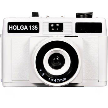 Holga 135 Plastic 35mm Camera (White)