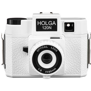 Holga 120N Medium Format Film Camera (White)