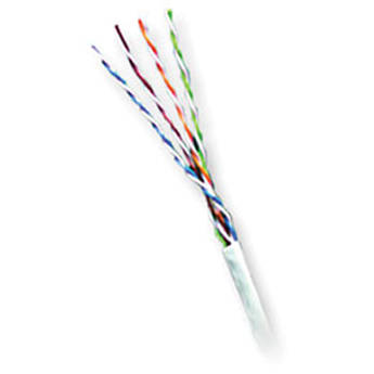 Honeywell 6330-11-01 Genesis 4-Pair Cat 5e UTP Cable (1000', White)