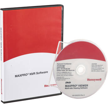 Honeywell MAXPRO NVR Base Software and License for 4 Channels