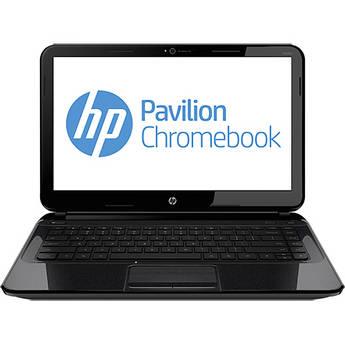 "HP Pavilion 14-c010us 14"" Chromebook Computer (Black)"