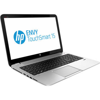 "HP ENVY TouchSmart 15-j080us Multi-Touch 15.6"" Notebook Computer (Silver)"