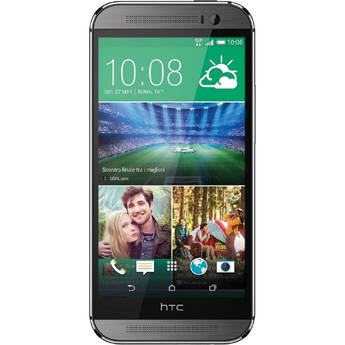 HTC One M8 32GB AT&T Branded Smartphone (Unlocked, Gunmetal Grey)