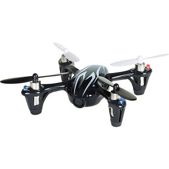 HUBSAN X4 H107C-HD Quadcopter with 2MP Video Camera (Black/White)
