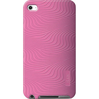 iLuv 3D Silicone Case for iPod touch 4th Generation Media Player (Pink)