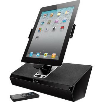 iLuv iMM727 ArtStation Stereo Speaker Dock (Black)