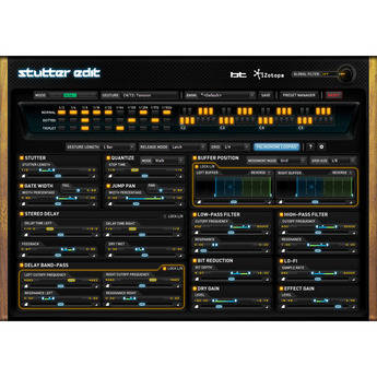 iZotope Stutter Edit - Audio Slicing and Manipulation Plug-In