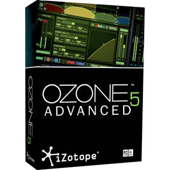 iZotope Ozone 5 Advanced - Complete Mastering System Plug-In