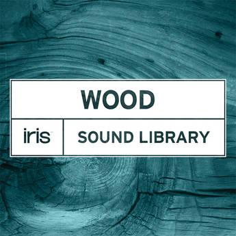 iZotope Iris Wood Sound Library