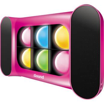 i.Sound iGlowSound Speaker (Pink)