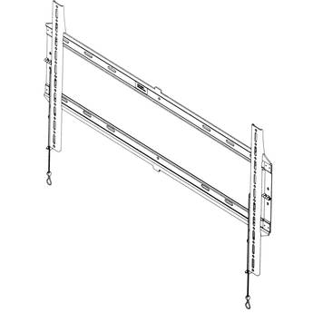 """IC By Chief Universal Low-Profile Wall Mount for 40 - 80"""" TVs (Black)"""