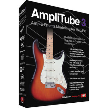 IK Multimedia AmpliTube 3 Guitar & Bass Tone Creation Software
