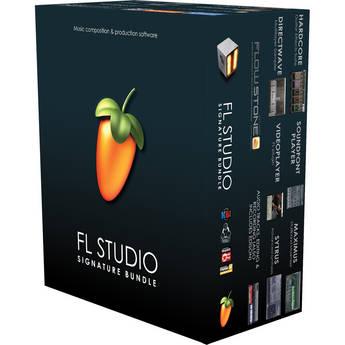 Image-Line FL Studio 11 Signature Bundle - Complete Music Production Software