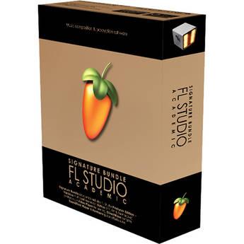 Image-Line FL Studio 11 Signature Bundle - Complete Music Production Software (Single User Educational Discount)