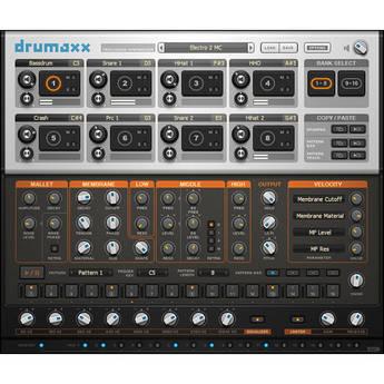 Image-Line Drumaxx Percussion Modeler VSTi Plug-in (Electronic Download)