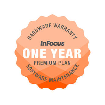 "InFocus 1-Year Extended Premium Hardware Warranty & Software Maintenance Plan for 65"" BigTouch Display"