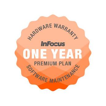 "InFocus 1-Year Extended Premium Hardware Warranty & Software Maintenance Plan for 65"" Mondopad Display"