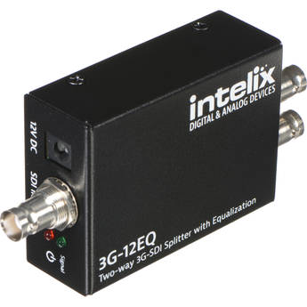 Intelix Two-Way 3G-SDI Splitter with Equalization
