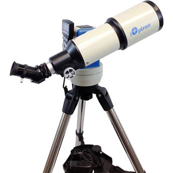 iOptron Cube-G-R80 SmartStar 80mm f/5 Refractor Telescope with GoTo Mount (Astro Blue)