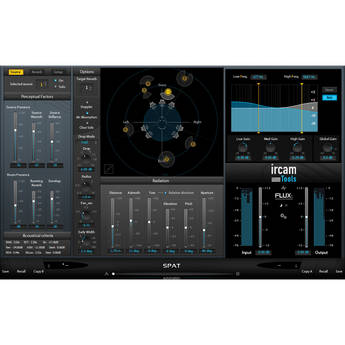 IRCAM TOOLS SPAT Complete Room Acoustics Simulator Plug-In (Electronic Download)
