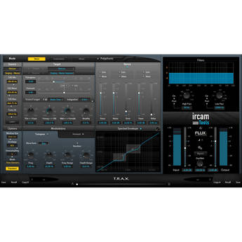 IRCAM TOOLS TRAX Voice/Sonic Processor (Electronic Download)